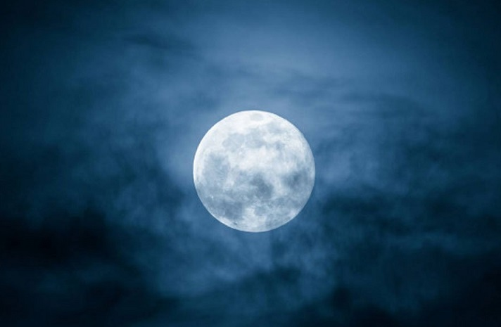 The Moon has a tail that the Earth wears once a month like a scarf