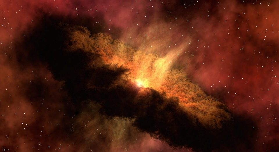 A region found in the Milky Way where stars will soon explode en masse