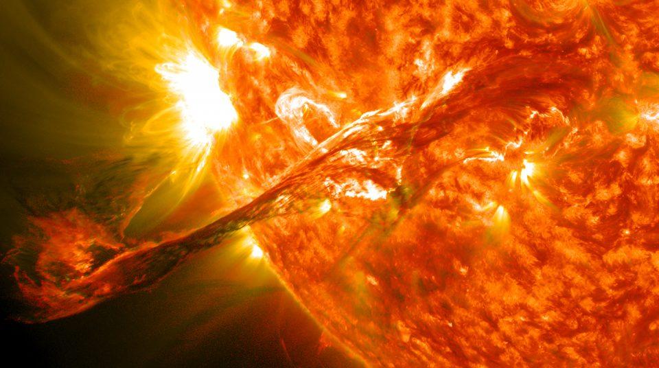A solar flare threatens NASAs mission