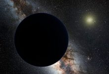 Changed ideas about the mysterious ninth planet of the solar system