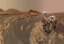 Curiosity sent a selfie from Mars and a selection of images