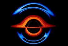 First visualization of a binary black hole created