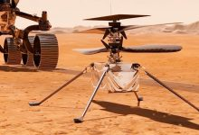 For the first time in history a helicopter was tested on Mars VIDEO