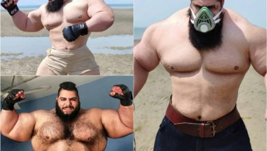 Is the Iranian Hulk a tough guy or a fairground figure 1