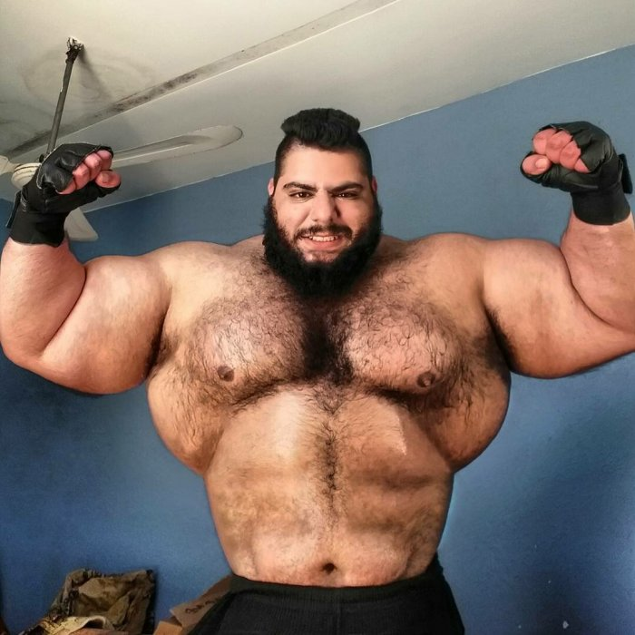 Is the Iranian Hulk a tough guy or a fairground figure 3