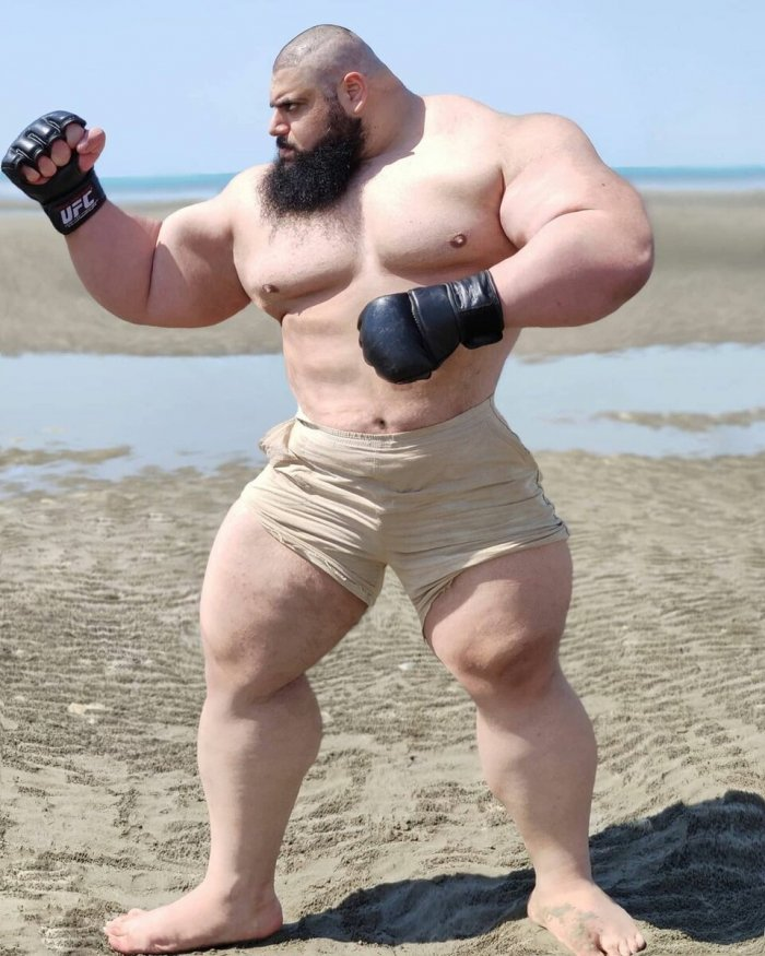 Is the Iranian Hulk a tough guy or a fairground figure 6