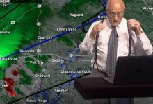 Live meteorologist learned that his house was demolished by a tornado the hosts reaction surprised everyone