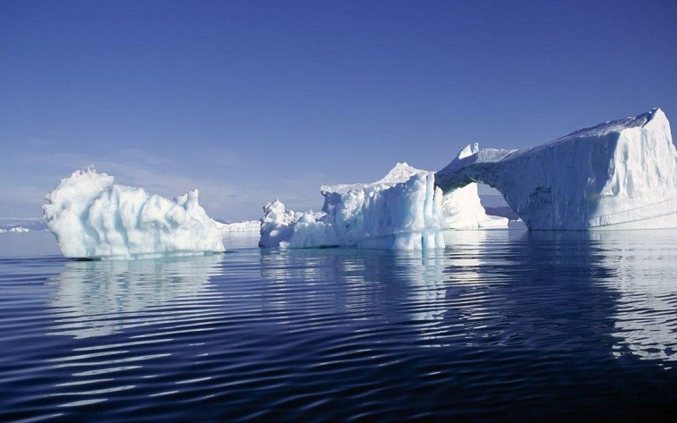 Melting Arctic ice threatens the world
