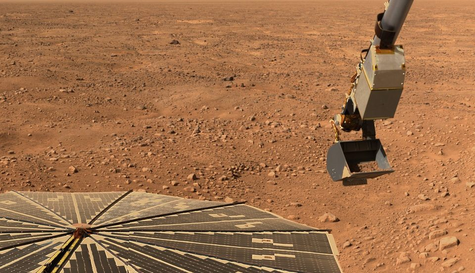 Microbes can live under the surface of modern Mars