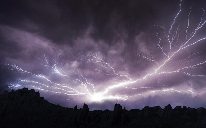 Scientists have found out why lightning strikes twice in one place