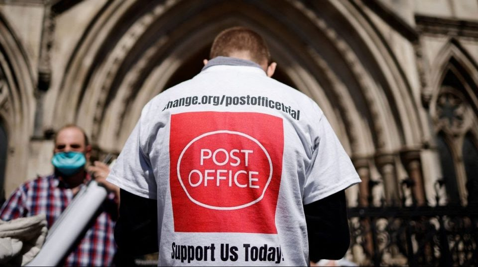 Software bug sent innocent postal workers to jail