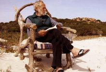 The Italian of his own free will lived a life like Robinson Crusoe