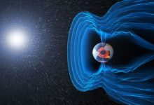 The state of the Earths magnetic field indicates that it will soon shut down completely
