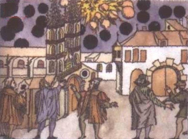 UFO sightings in the Middle Ages 1