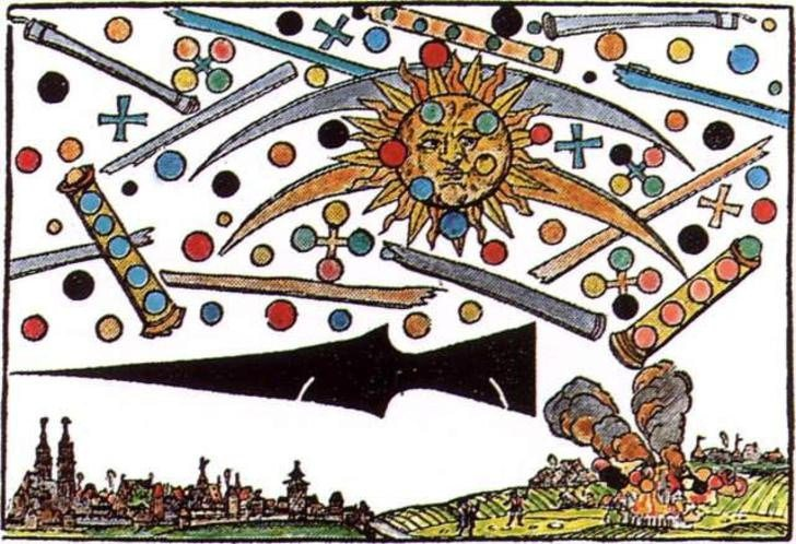 UFO sightings in the Middle Ages 2
