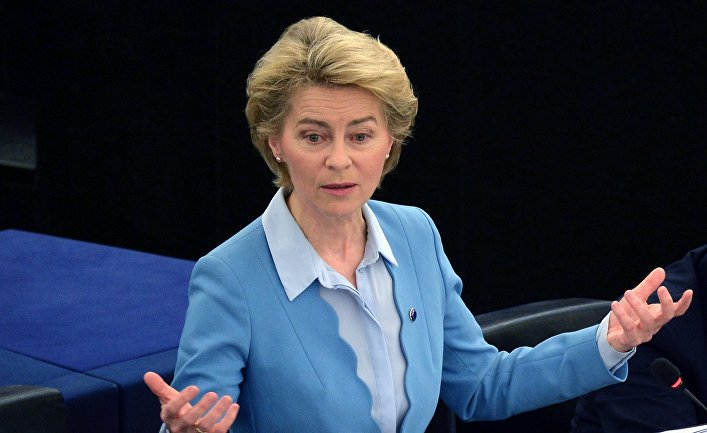Ursula von der Leyen compared the fight for the covid 19 vaccine to the Cold War space race