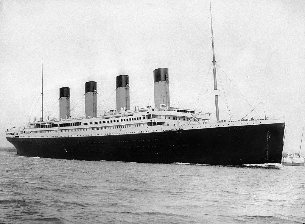 snapshot of the iceberg that sank the Titanic