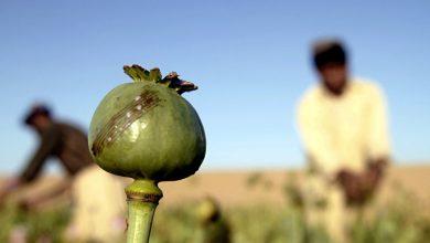 Americans leave Afghan drug traffic remains