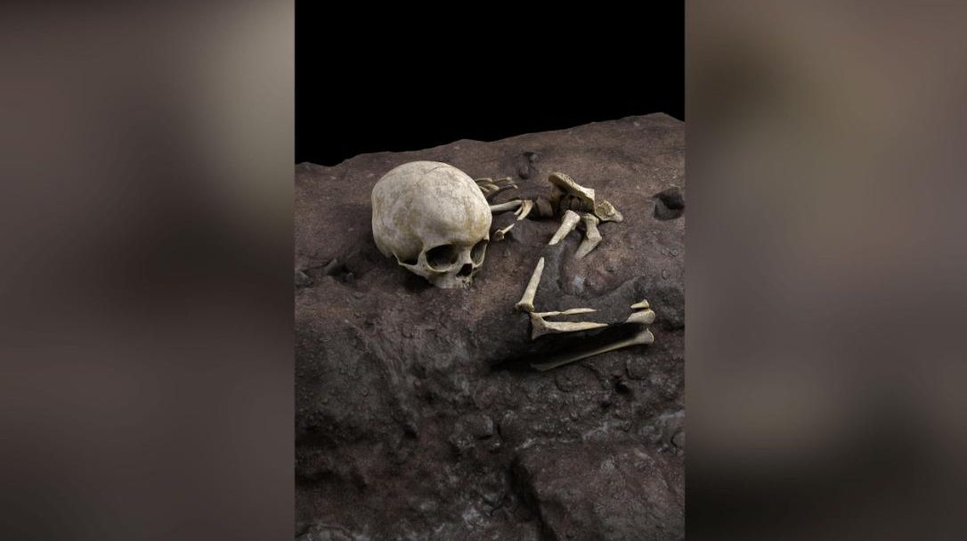 Archaeologists have found a human burial which is more than 70 thousand years old