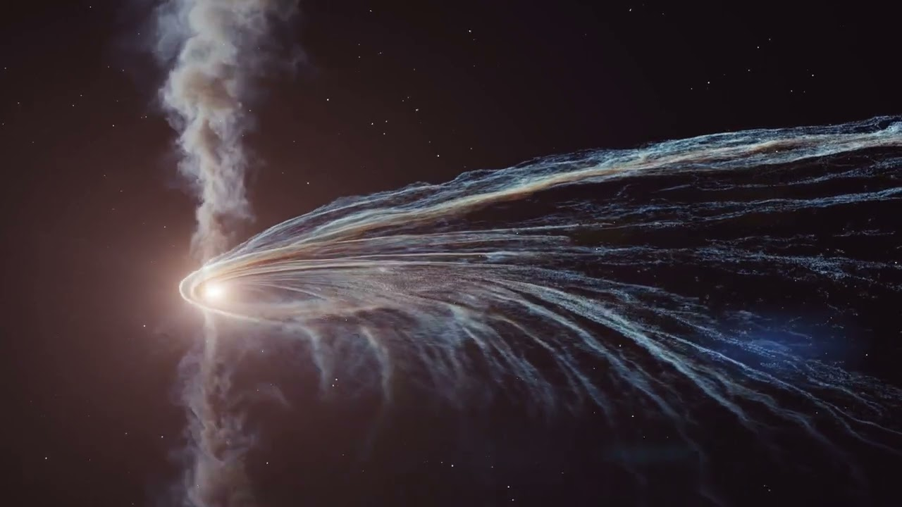 Astronomers witness the absorption of a star by a black hole