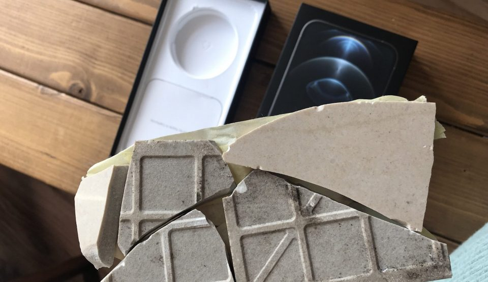British ordered an iPhone 12 but received a broken tile instead