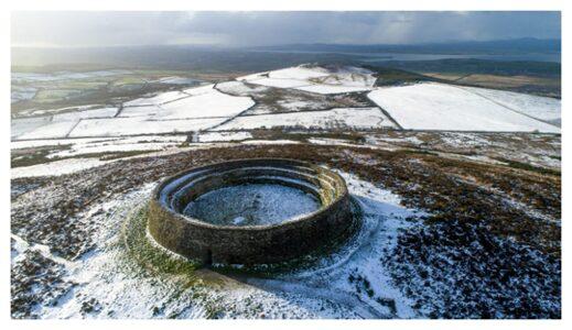 Fort Greenan seat of the kings of Isleh Ireland