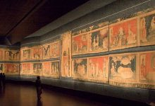 Fragments of the Apocalypse carpet were found in the funds of the Paris gallery