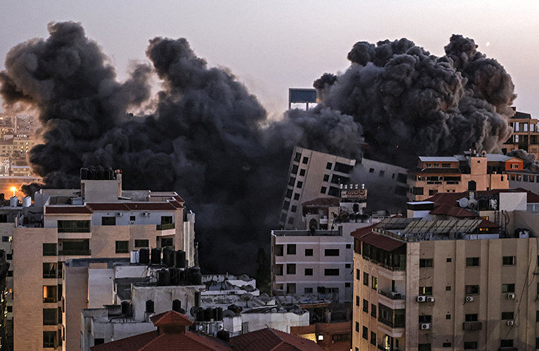Israel and the Gaza Strip on fire 14