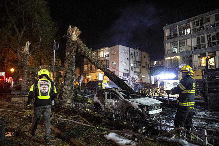 Israel and the Gaza Strip on fire 2