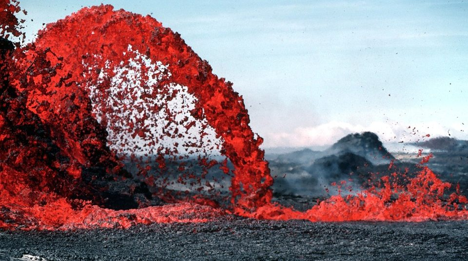 Land with an active volcano is being sold in Iceland there are already buyers