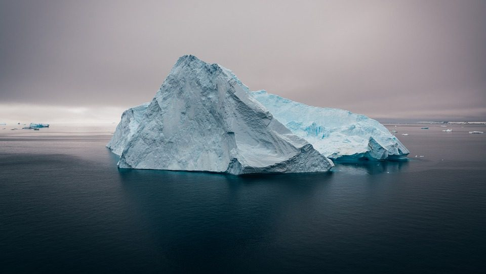 Melting Antarctic ice could trigger a chain reaction