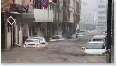 Saudi Arabias desert looks like a big river