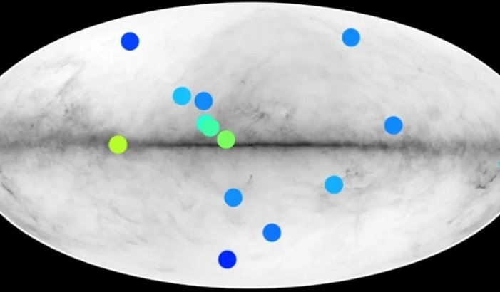 Signs of anti stars found in the Milky Way