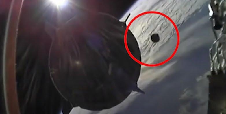 SpaceX crew narrowly escaped UFO collision