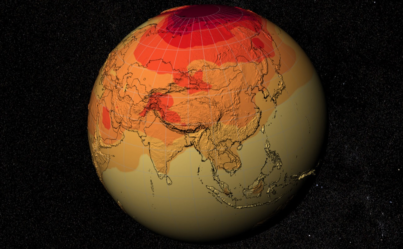 The global temperature on the planet by the end of the century may rise by almost 2 5 degrees