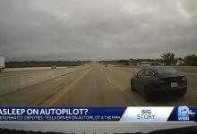 US police chased Tesla 1