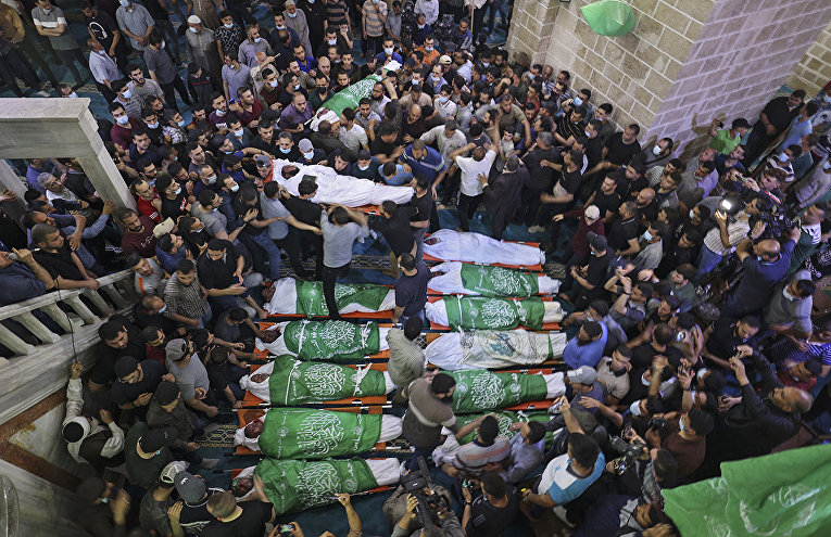 Violence in Israel and the Gaza Strip 11
