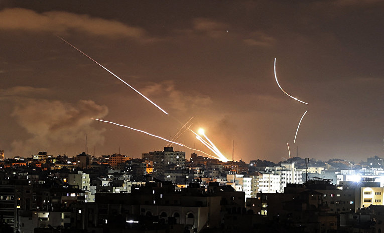 Violence in Israel and the Gaza Strip 5