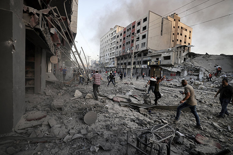 Violence in Israel and the Gaza Strip 8