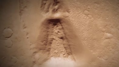massive structure similar to an ancient Japanese tomb discovered on Mars 2