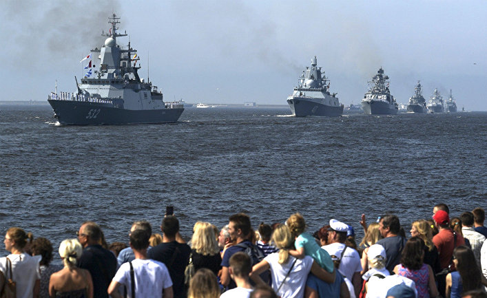 Russia builds its first invisible warship