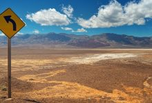 81 degrees heat new temperature record in Death Valley