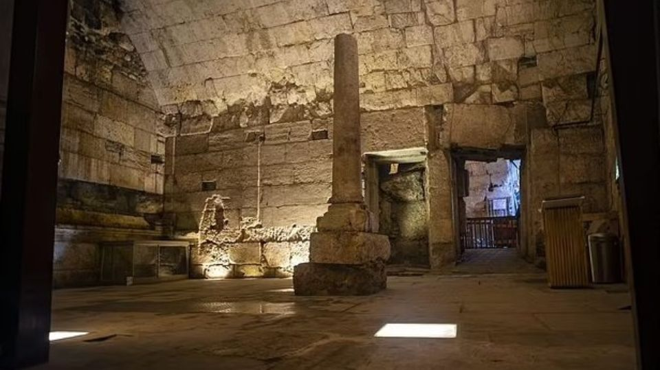A banquet hall erected in the time of Christ was discovered in Jerusalem