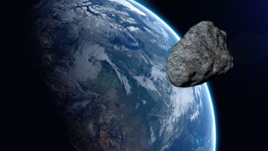 An asteroid the size of an Egyptian pyramid flew near Earth