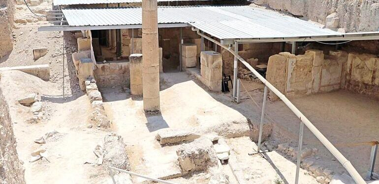 Archaeologists have discovered an antique restaurant in Turkey