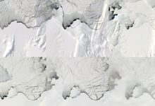In Antarctica a huge lake disappeared in three days