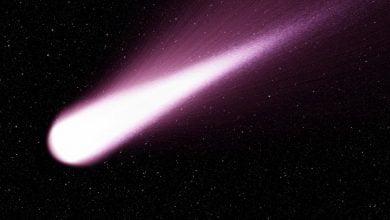 Mega comet discovered outside Saturn