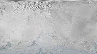 Methane on Saturns moon may indicate the presence of life under the ice