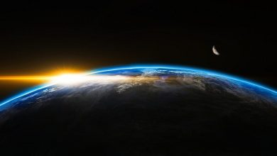 The Earth began to absorb twice as much solar radiation