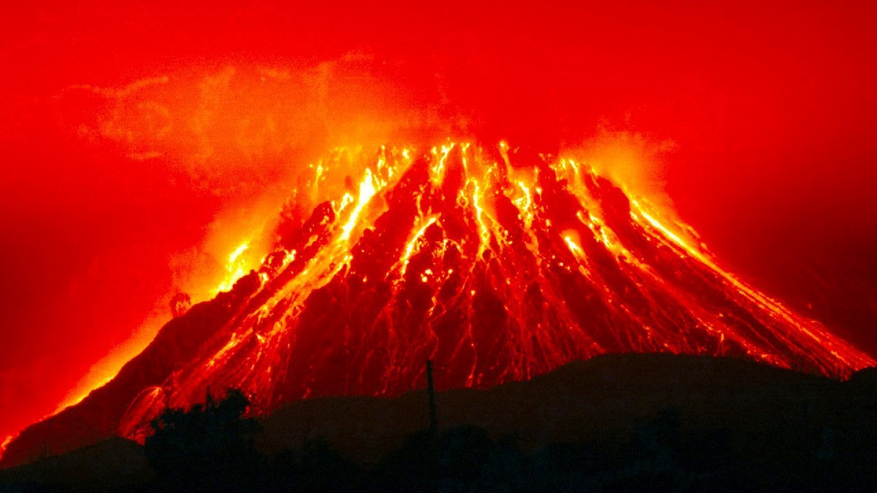 The consequences of the eruption of the supervolcano